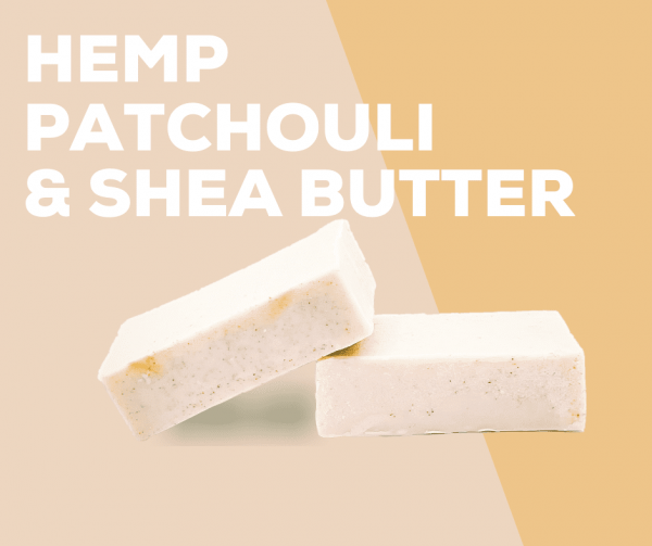 Hemp, Patchouli & Shea Butter Soap - Oschen