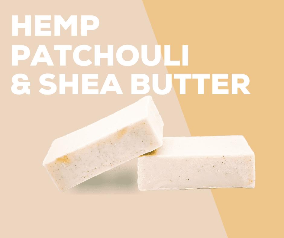 Hemp, Patchouli & Shea Butter Soap - Oschen