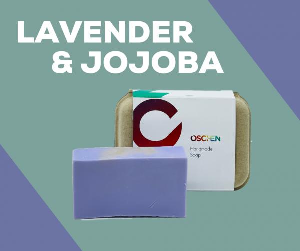 Lavender and jojoba shampoo bar
