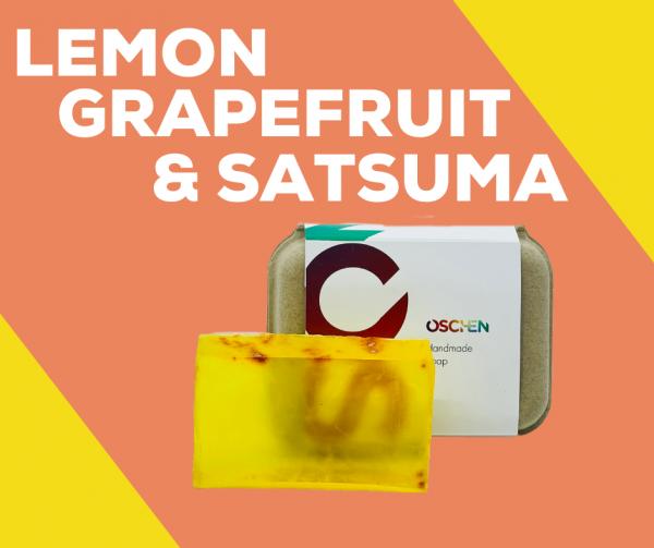 Lemon, Gapefruit and Satsuma Shampoo Bar