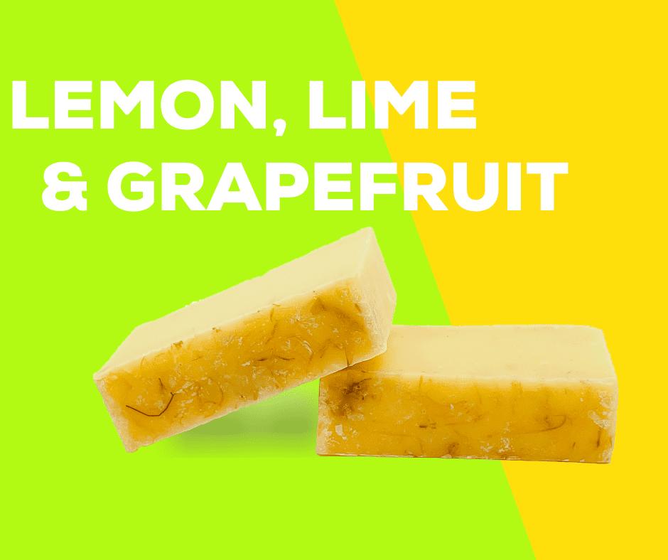 Lemon, Lime & Grapefruit Soap - Oschen