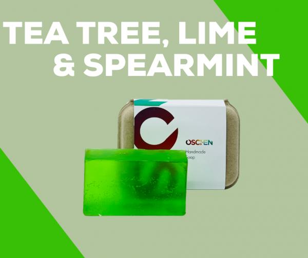 Tea Tree, Lime and Spearmint Shampoo Bar